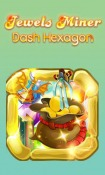 Jewels Miner: Dash Hexagon Android Mobile Phone Game