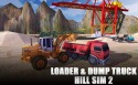 Loader And Dump Truck Hill Sim 2 QMobile NOIR A8 Game