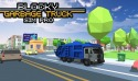 Blocky Garbage Truck Sim Pro Android Mobile Phone Game