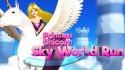 Princess Unicorn: Sky World Run Samsung Galaxy Pocket S5300 Game