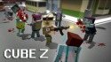 Cube Z: Pixel Zombies Android Mobile Phone Game