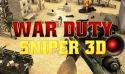 War Duty Sniper 3D QMobile Noir A6 Game