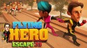 Flying Hero Escape 3D Android Mobile Phone Game