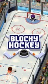 Blocky Hockey: Ice Runner Android Mobile Phone Game