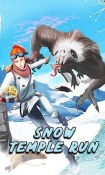 Snow Temple Run Android Mobile Phone Game