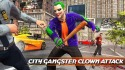 City Gangster Clown Attack 3D Android Mobile Phone Game