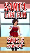 Santa Girl Run: Xmas And Adventures Android Mobile Phone Game