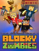 Blocky Zombies Android Mobile Phone Game