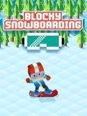 Blocky Snowboarding Samsung Galaxy Tab 2 7.0 P3100 Game