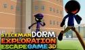 Stickman Dorm Exploration Escape Game 3D Android Mobile Phone Game