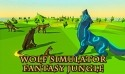 Wolf Simulator Fantasy Jungle Android Mobile Phone Game