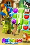 Rainbow Wings Android Mobile Phone Game