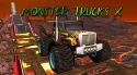 Monster Trucks X: Mega Bus Race Android Mobile Phone Game