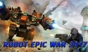 Robot Epic War 2017: Action Fighting Game Android Mobile Phone Game