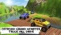 Offroad Grand Monster Truck Hill Drive Android Mobile Phone Game
