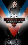 David Villa Pro Soccer Android Mobile Phone Game