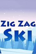 Zig Zag Ski Android Mobile Phone Game