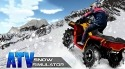 ATV Snow Simulator Android Mobile Phone Game