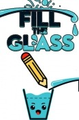 Fill The Glass: Drawing Puzzles Android Mobile Phone Game