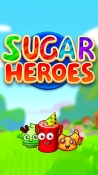 Sugar Heroes: World Match 3 Game! Android Mobile Phone Game