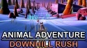 Animal Adventure: Downhill Rush Android Mobile Phone Game