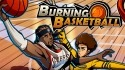 Burning Basketball Android Mobile Phone Game