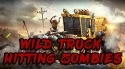 Wild Truck Hitting Zombies Motorola P40 Game