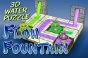 Flow Fountain: 3D Water Puzzle Android Mobile Phone Game