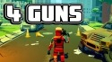 4 Guns: 3D Pixel Shooter Android Mobile Phone Game