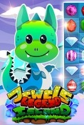 Jewels Legend: Island Of Puzzle Android Mobile Phone Game