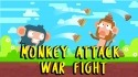 Monkey Attack: War Fight Android Mobile Phone Game