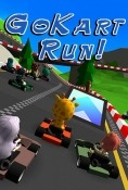 Go Kart Run Android Mobile Phone Game