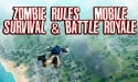 Zombie Rules: Mobile Survival And Battle Royale BLU Touchbook M7 Pro Game