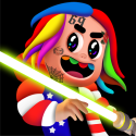 6ix9ine Runner Android Mobile Phone Game
