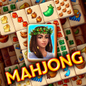 Pyramid Of Mahjong: A Tile Matching City Puzzle Samsung Galaxy Tab S7+ Game