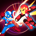 Stickman Superhero - Super Stick Heroes Fight Vivo Y12s Game