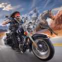 Outlaw Riders: War Of Bikers Motorola One (P30 Play) Game