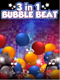 3 In 1 Bubble Beat Java Mobile Phone Game