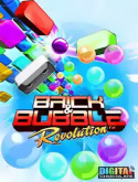 Brick & Bubble Revolution Java Mobile Phone Game