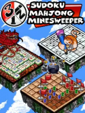 3 In 1 Puzzle Games Java Mobile Phone Game