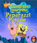 Sponge Bob Paparazzi Parade Java Mobile Phone Game