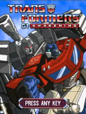 Transformers G1: Awakening Java Mobile Phone Game