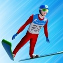 Ski Ramp Jumping Android Mobile Phone Game