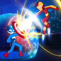 Stickman Fighter Infinity - Super Action Heroes QMobile Smart View Max Game