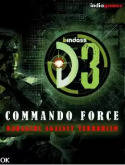 D3 Commando Force Java Mobile Phone Game