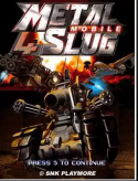 Metal Slug 4 Mobile Java Mobile Phone Game