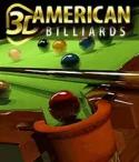 3D American Billiards Java Mobile Phone Game