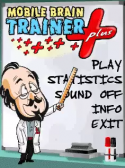 Mobile Brain Trainer Plus Java Mobile Phone Game
