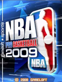 NBA Pro Basketball 2009 LG A230 Game