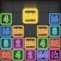 Drop Number : Neon 2048 G'Five Smart 6 Game